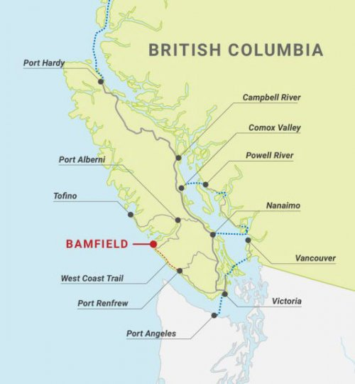 Getting to Bamfield